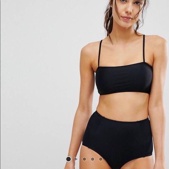 87f81ff6f4 ASOS Swim | Square Neck Bikini Top | Poshmark